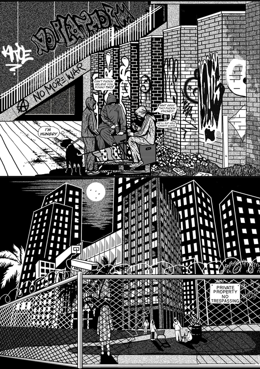 Black Matter Comic, A5 pages Lo - catsims | ello