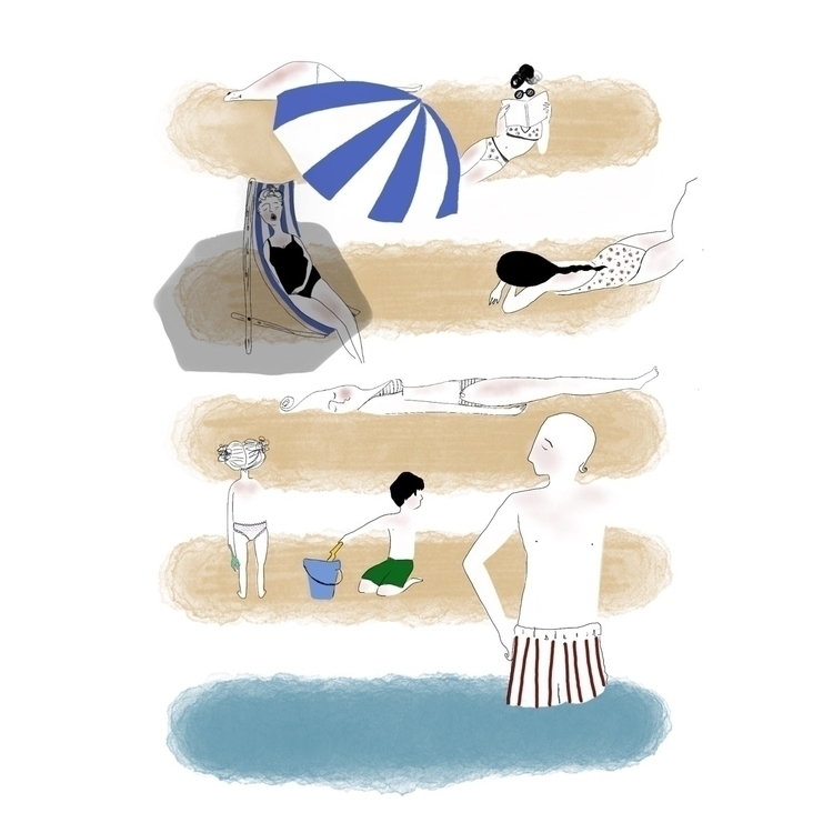 Valencia - illustration, holiday - giuliapierobon | ello