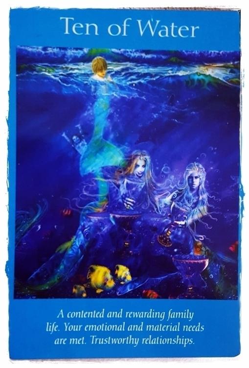 Angel Tarot ~ Ten Water - Angels - speedykitty | ello