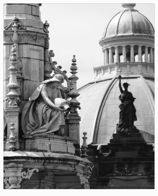 Doulton Fountain Nice shot maid - ageekonabike | ello