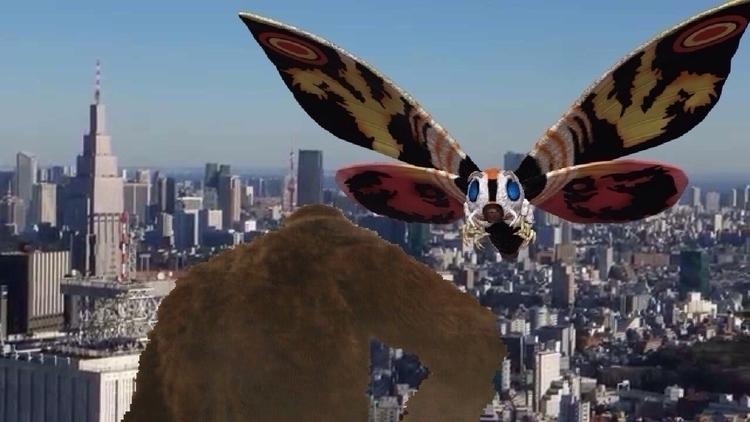 King Kong Mothra: Win? KONG WIN - devinosaurus | ello