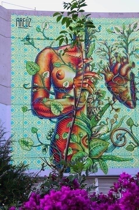 Artist: Gonzalo Areúz Location - streetartunitedstates   ello
