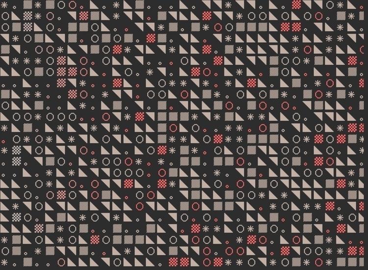 javascript, generative, pixels - hellbrain | ello