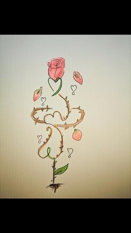 wanna drawing tattoo  - katroselamb   ello