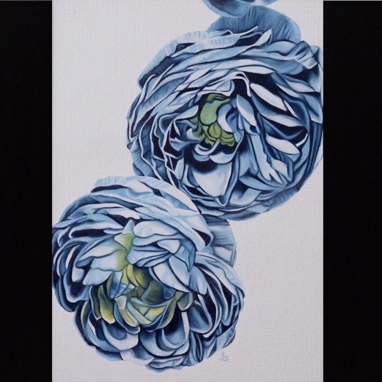5 7 - oilpainting#flowers, painting#realism - brandiread | ello
