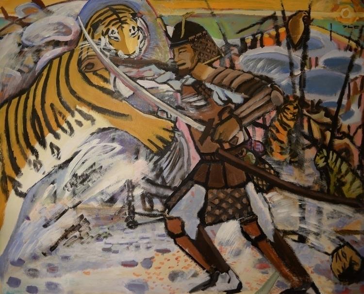 Korean Tiger Fights Japanese Sa - chunbumpark | ello