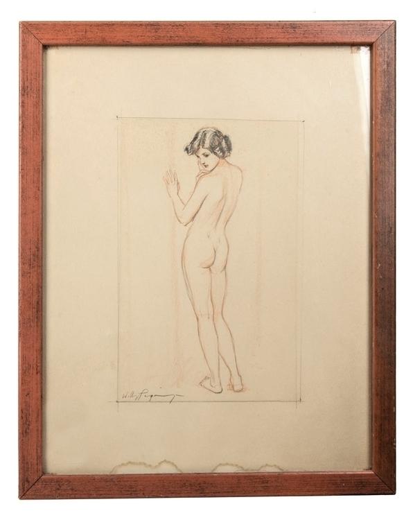 Willy Pogany original framed gr - godsotherson | ello