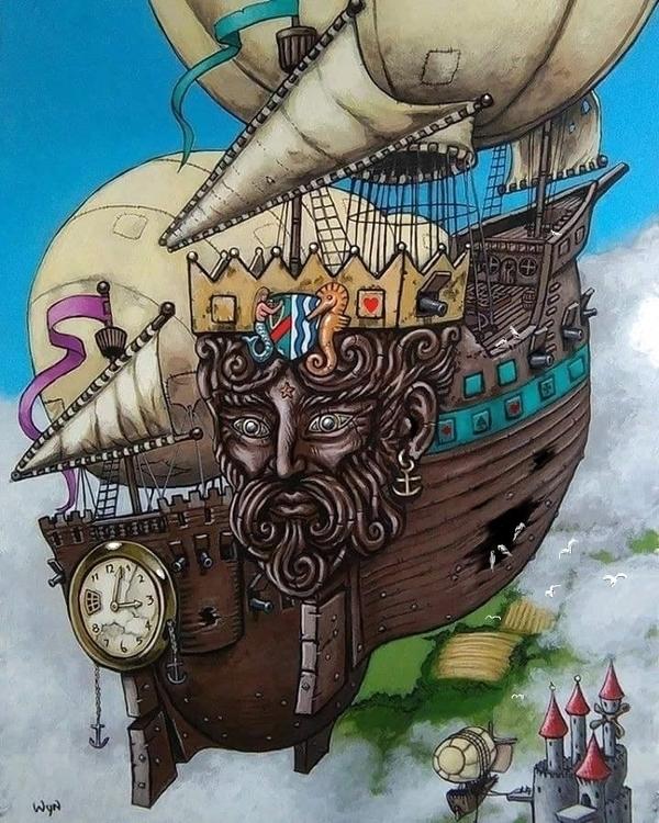 'Ship Wrecks' Steampunk inspire - wynsexon | ello