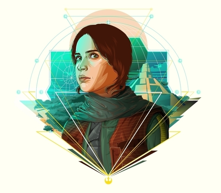 Jyn Erso Star Wars Celebration  - cryssy | ello
