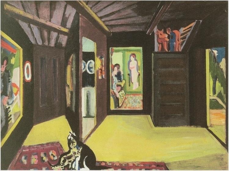 Ernst Ludwig Kirchner: Mountain - arthurboehm | ello