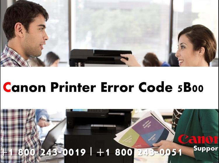 Fix Canon Printer Error Code 5b - djohnmiller1990 | ello