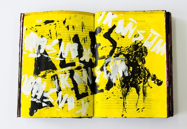 pages printed book randomly pai - _marco   ello