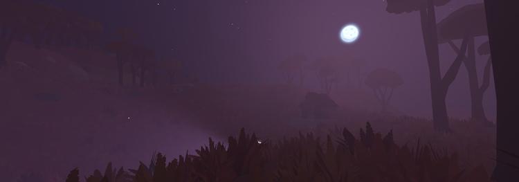 Volumetric moonlight creates pr - floatlands | ello