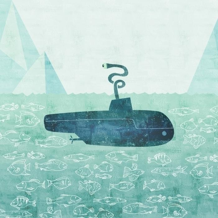 nose - submarine, ocean, fish, arctic - anthonyforonda | ello