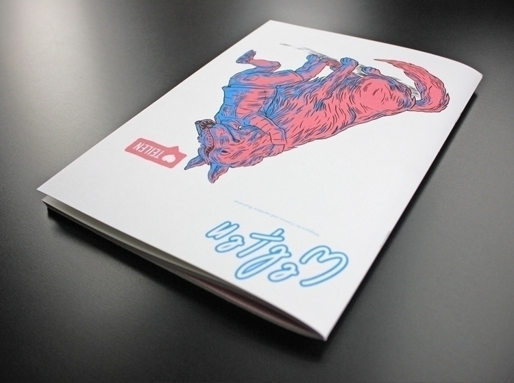Welten – issue / Artworks Marti - studio_akkord | ello
