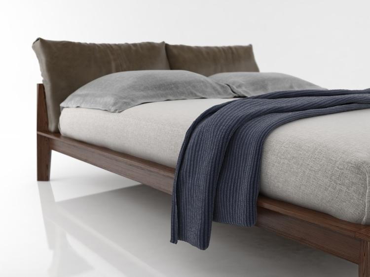 Molteni - design, 3d, molteni, bed - adidraw | ello