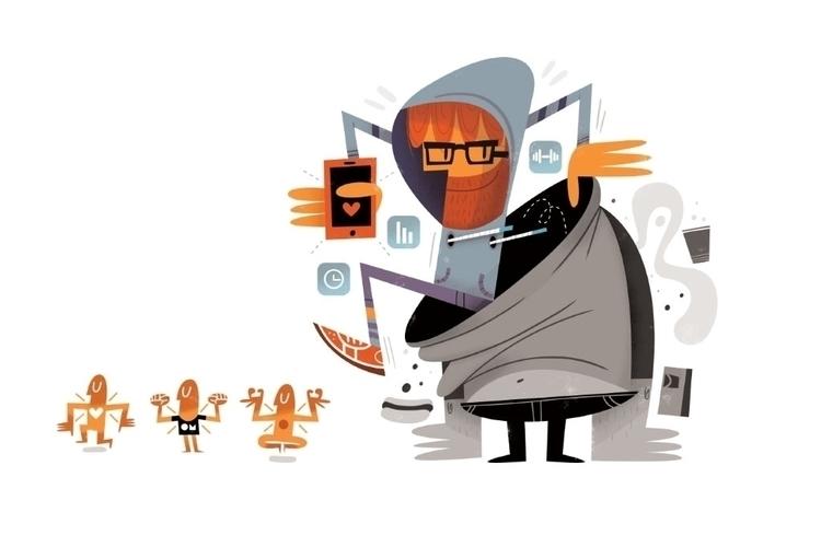 Conozca Más / magazine - dundo, illustration - eldundo | ello