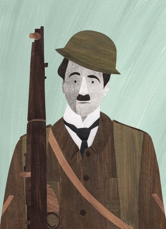 Charlie Chaplin - Shoulder Arms - staceyknights | ello