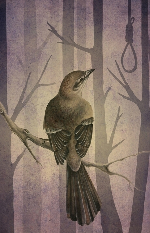 Kill Mockingbird - bookcover - mf_illustration   ello