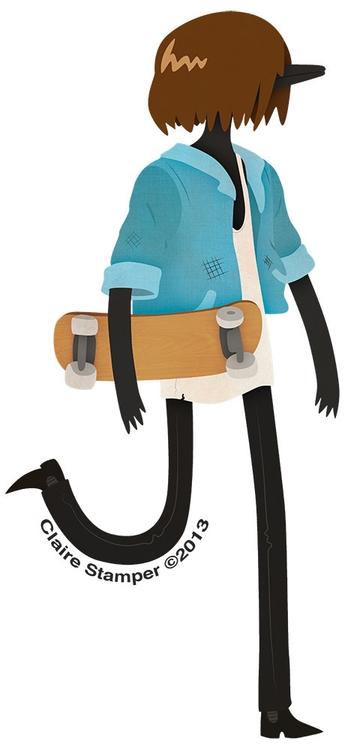 Crow Bro - crow, character, vector - clairestamper | ello