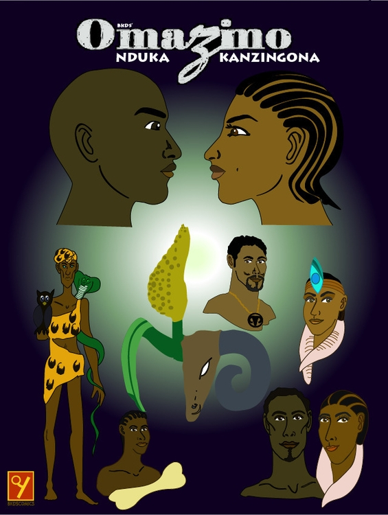 Omazimo - Nduka Kanzingona - illustration - pridegree_designs | ello