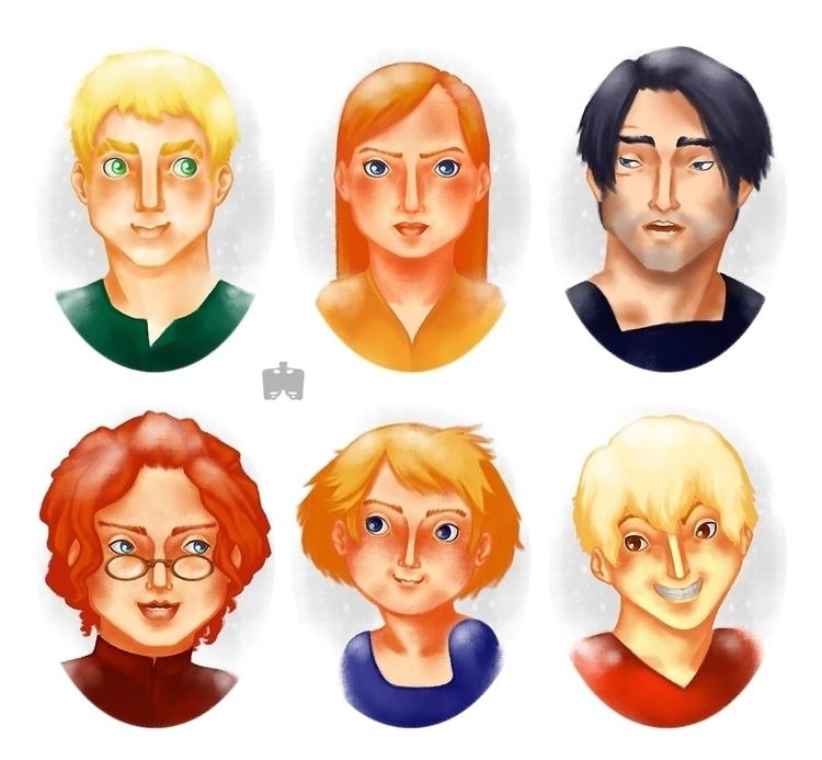 untitled story | character bust - nanofemur | ello
