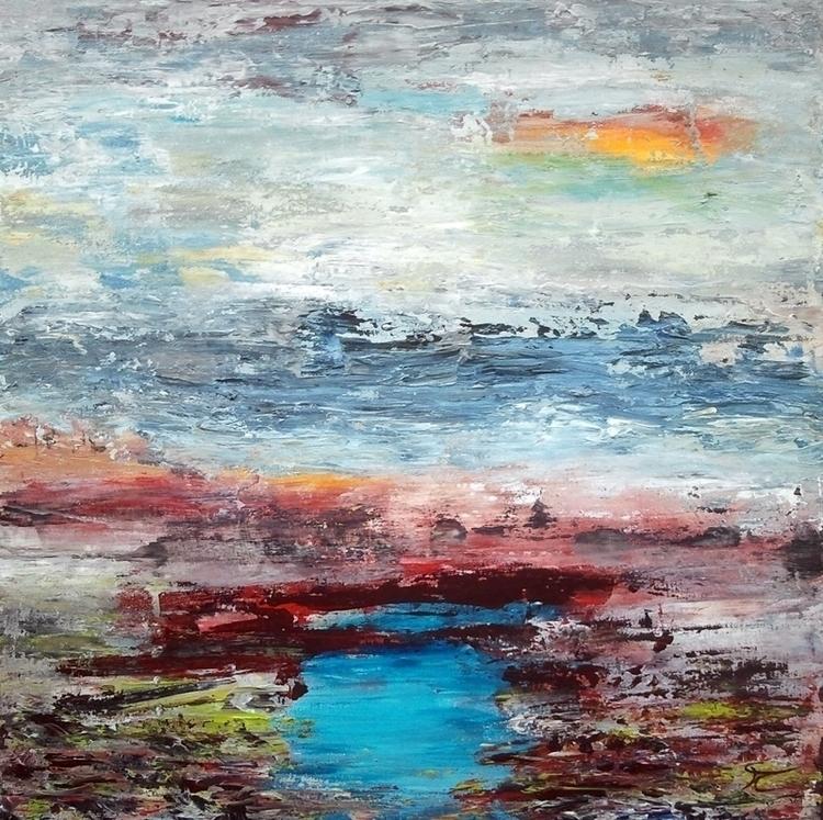 Water landscape 9 50 cm - painting - xplore-1239 | ello