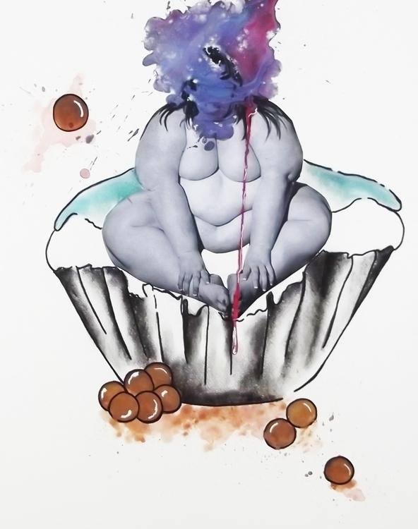Cupcake - cake, cupcake, obese, photography - danikabester | ello