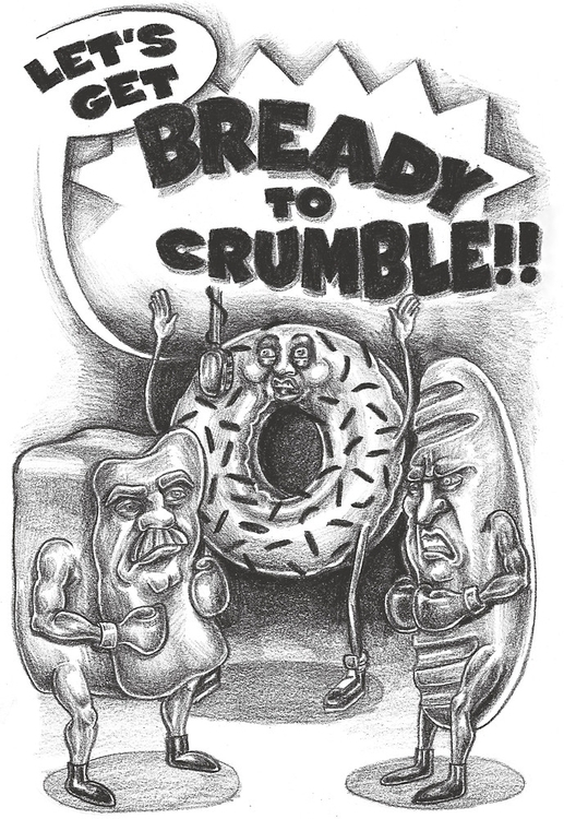 Bready Crumble - illustration, drawing - meganpalmer | ello