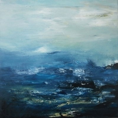 Water landscape 2 50 cm sold - painting - xplore-1239 | ello