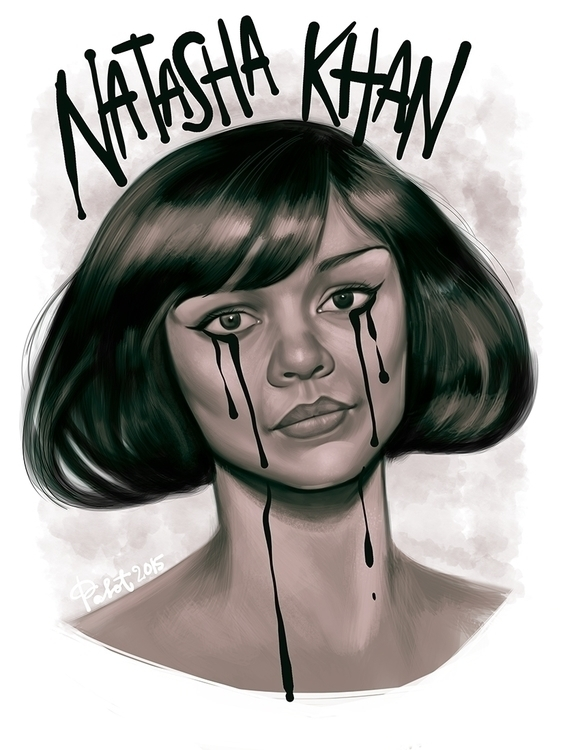Natasha Khan Bat Lashes - digitalart - lucilleumali | ello
