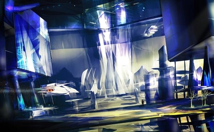 Blue - conceptart, conceptart, spaceship - indicator   ello