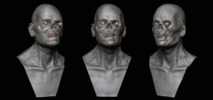 Zombie - zombie, characterdesign - art15 | ello