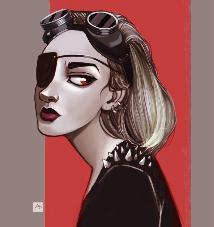 illustration, painting, characterdesign - alinavial | ello