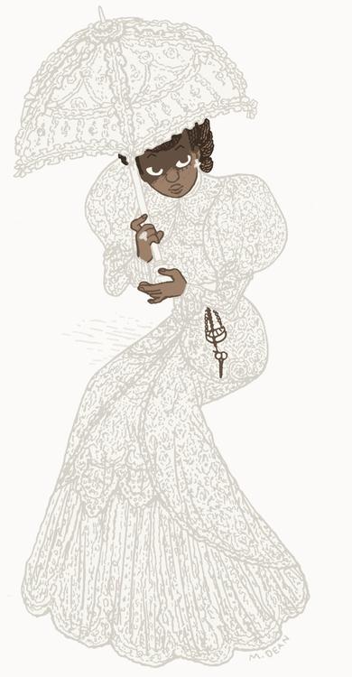 illustration, 1900s, fashion - meedean | ello