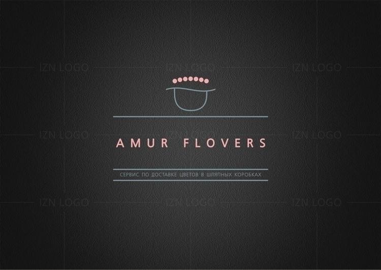 IZN DEGIZN Amur Flovers - logo, logodesign - iznutrizmus | ello