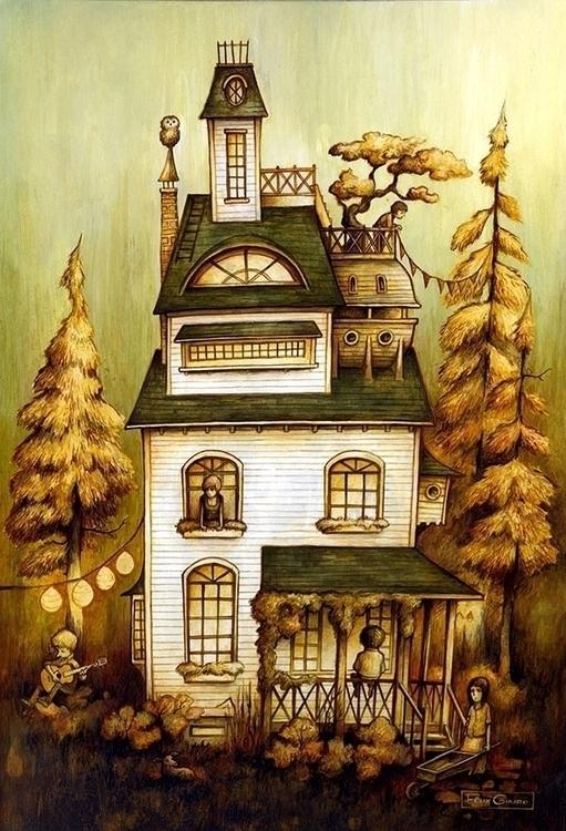 Summer house. 18 24, 2011. Acry - felix-1386   ello