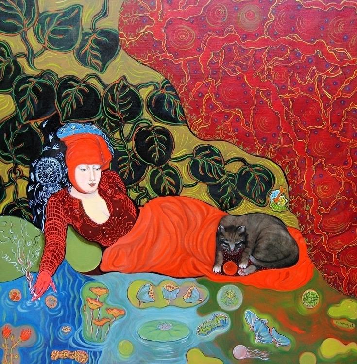 , painting - nicolemanieu | ello