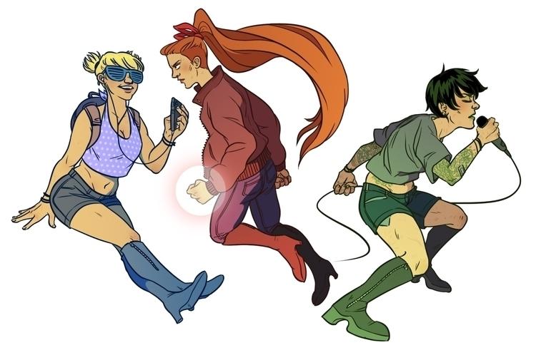 Powerpuff Girls - powerpuffgirls - rachelpoulson | ello