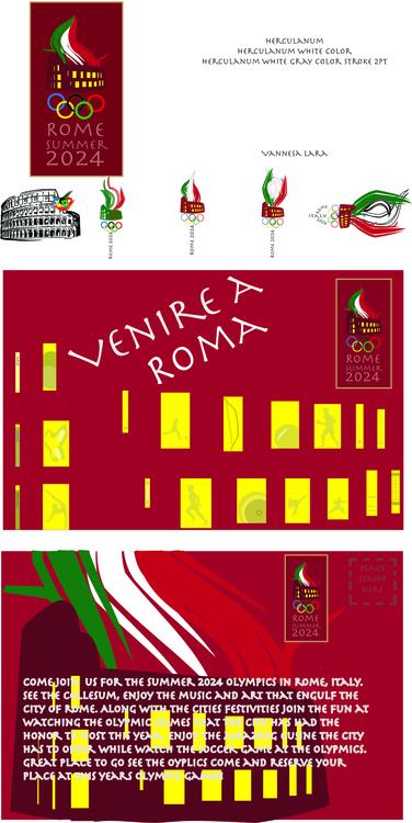 Olympics factitious design post - lara_vannesa | ello