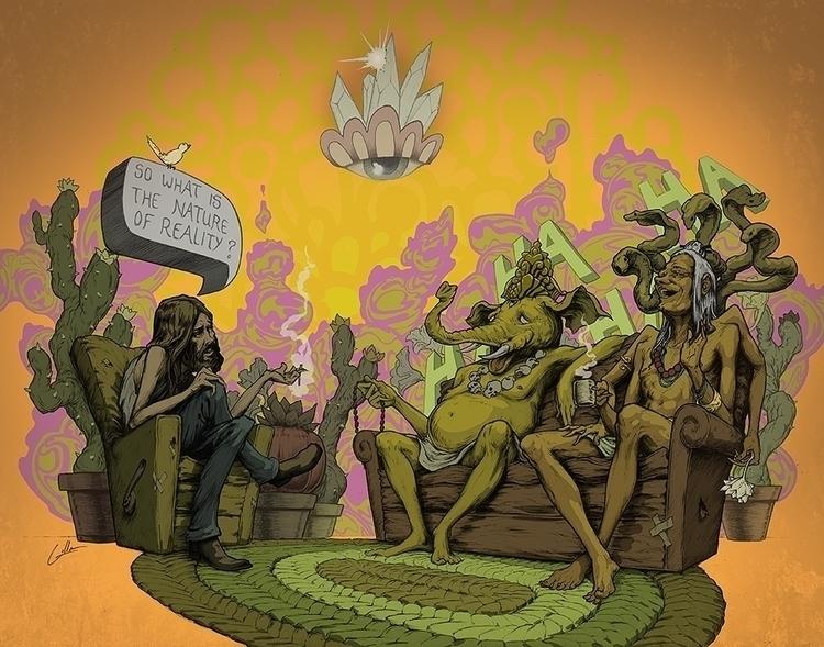 big questions - illustration, comicbooks - travisgillan   ello