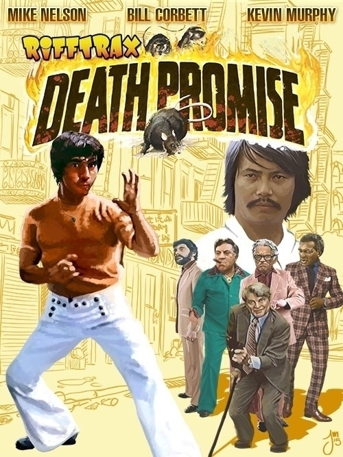 poster painted RiffTrax Death P - jasonmartin-1263 | ello