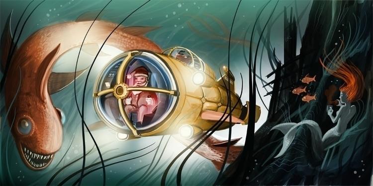 Merry Christmas underwater - christmas - malteknaack | ello