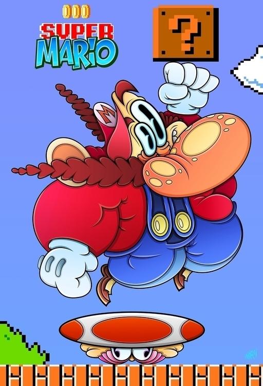 version Super Mario!!!  - gameart - eliran_bichman | ello