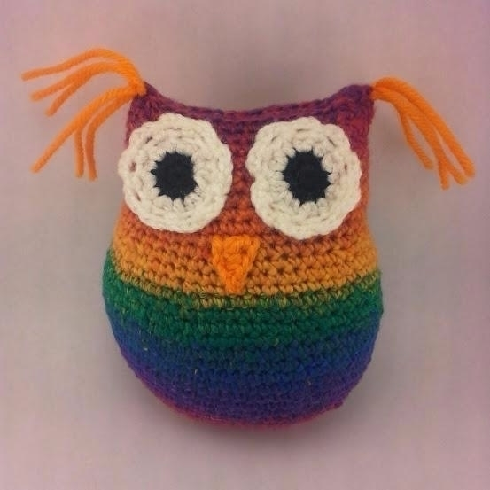 Whooo cuddly owl friend? Custom - miniaturemonkeycreations | ello