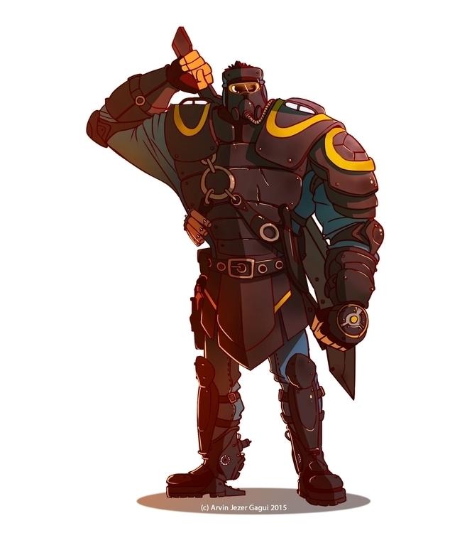 Steinar, Marauder Squad Captain - arvinjezergagui | ello