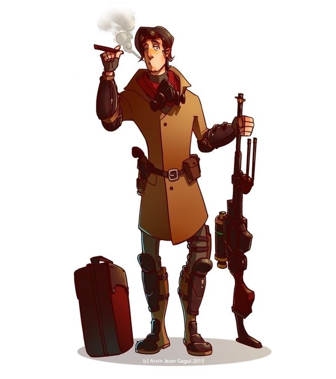 Ariel, MS Mech Engineer - characterdesign - arvinjezergagui | ello