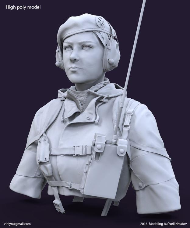 woman army - 3d - yuryhudov | ello