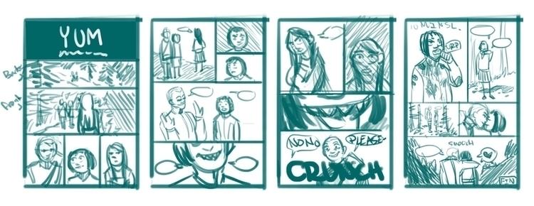Thumbnails comic called YUM - yum - rachelpoulson   ello