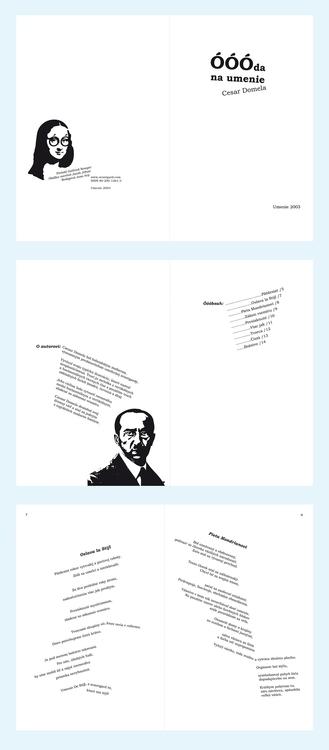 Poetry (experimental grid - typography - little_pencil | ello